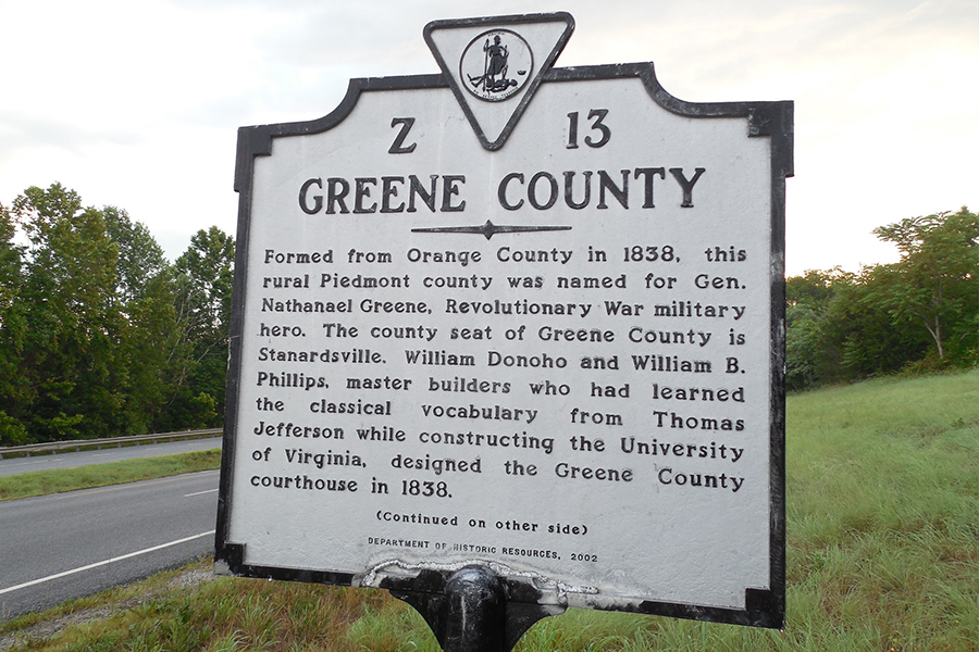 greene county virginia